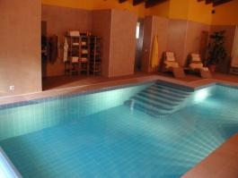 Světla v bazénu